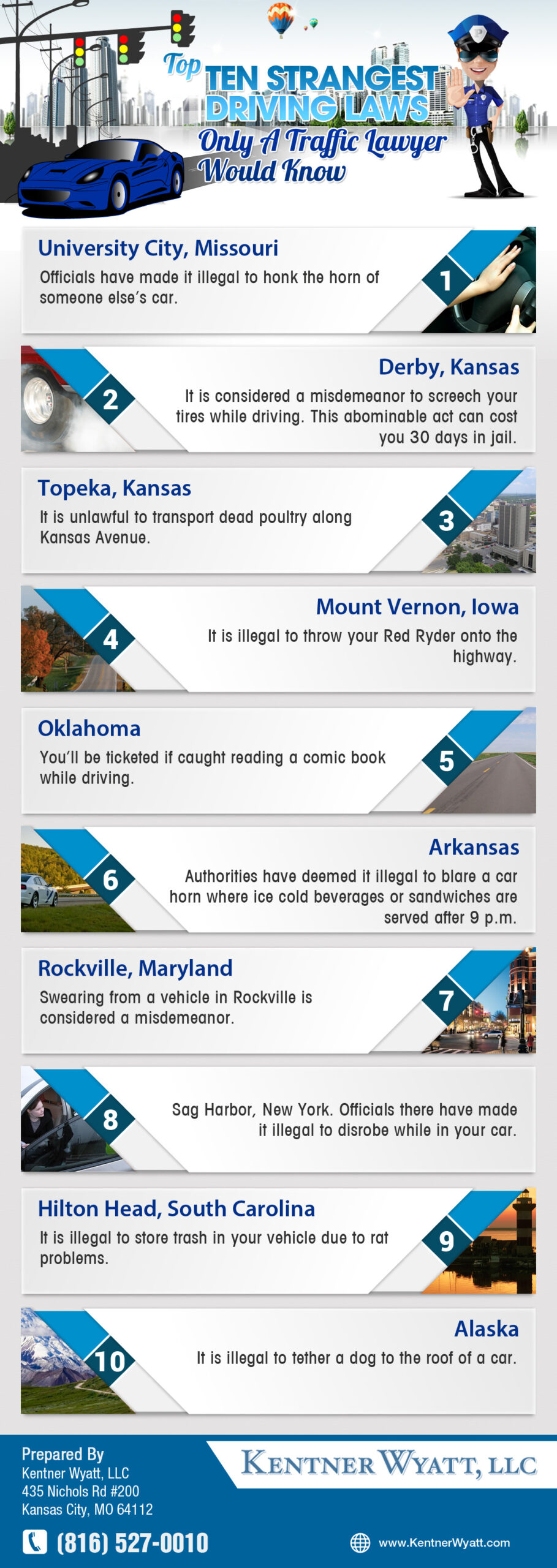 Kansas City Traffic Lawyer Driving Laws